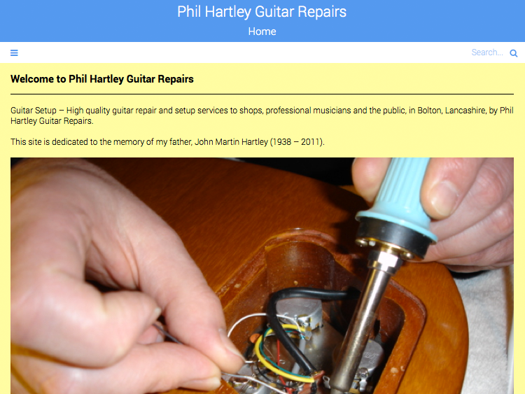 Responsive Website Update